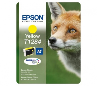 Cartridge Epson T1284  - žltá
