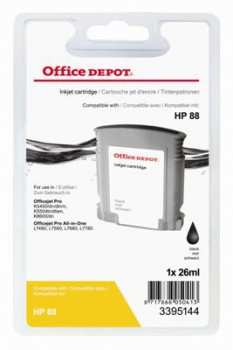 Cartridge Office Depot HP C9385A/88 - čierna