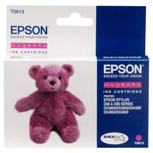 Cartridge Epson T061340 - purpurová