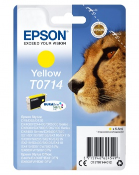Cartridge Epson T071440  - žltá